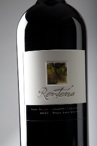 2004 Renteria Cabernet Sauvignon Stags Leap Magnum Labeled